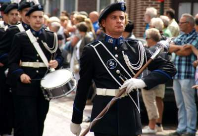 db 400 ZLF optocht Geert