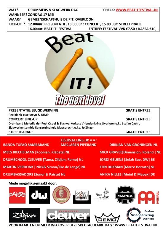 db 550 Beat  it affiche 2015