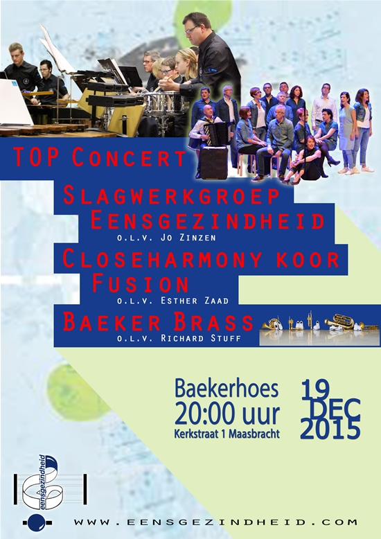 db 550 poster TOP Concert 19 12 2015