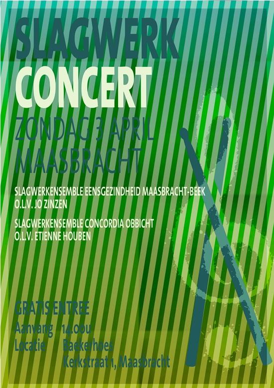 db 550 poster concert slagwerk 3 4 2016