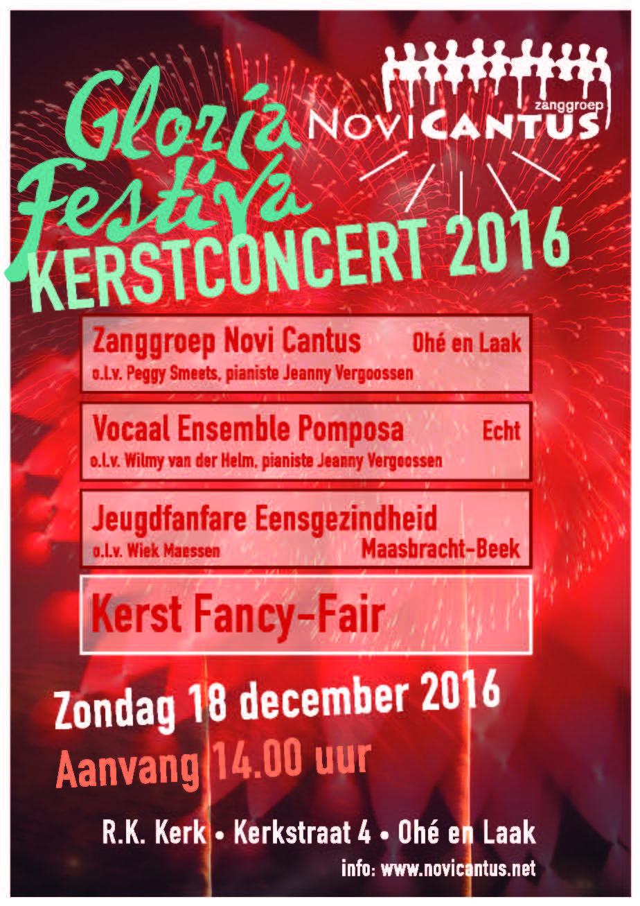 2016 poster Kerstconcert2016