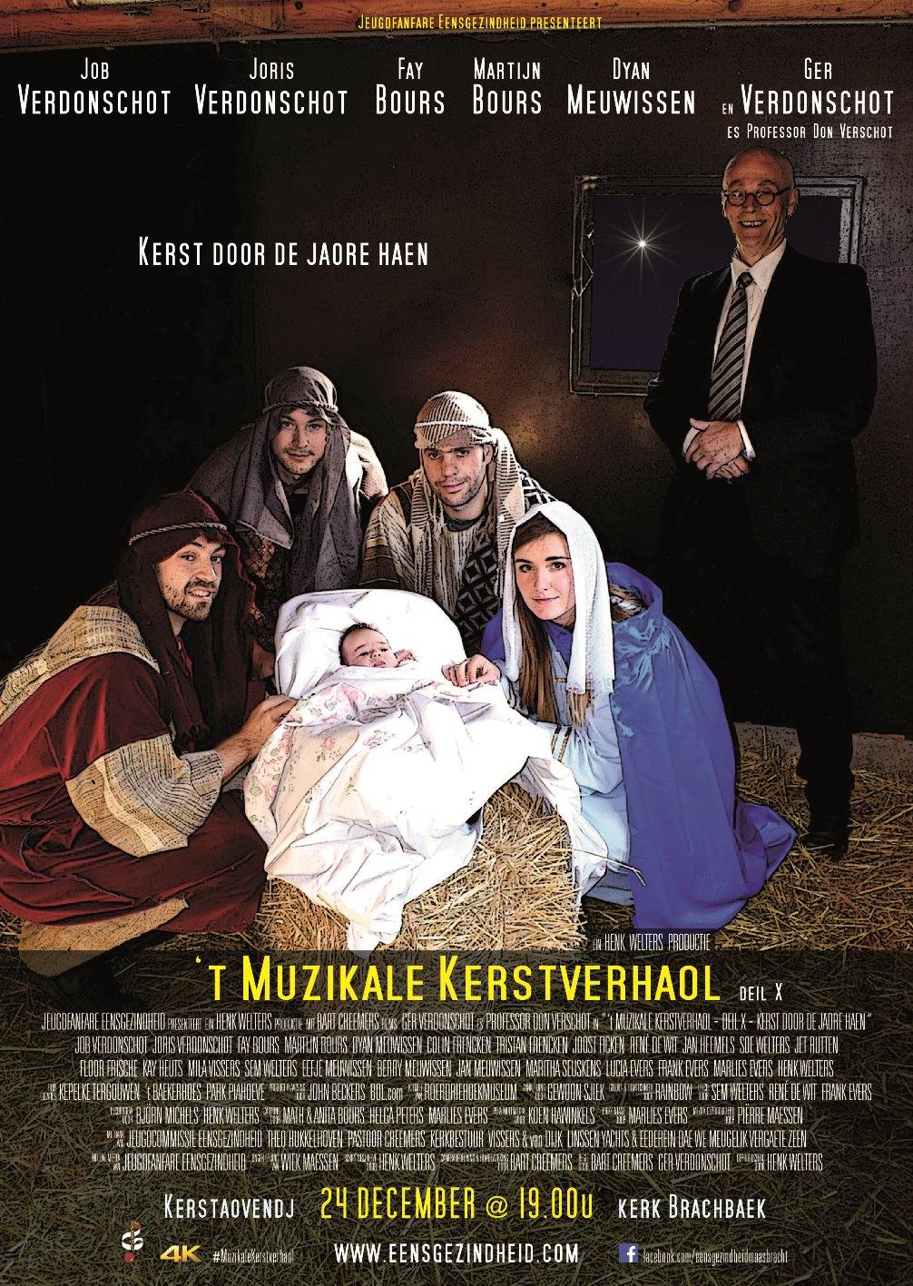 Poster 't Muzikale Kerstverhaol 2018